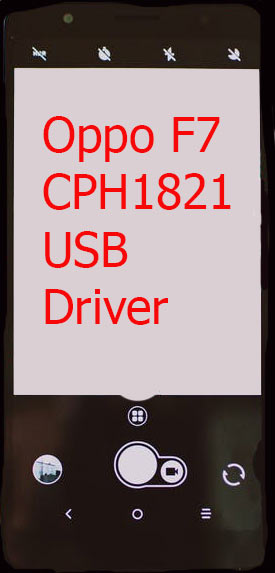 Oppo F7 CPH1821 USB Driver Download