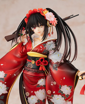 "Figuras: Sensual figura en kimono de Kurumi Tokisaki de ""Date a Live"" - Kadokawa"