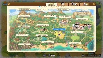 How to Save and Exit from the Doraemon Story of Seasons game