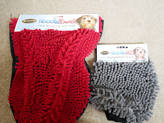 dog towels with big bobbles