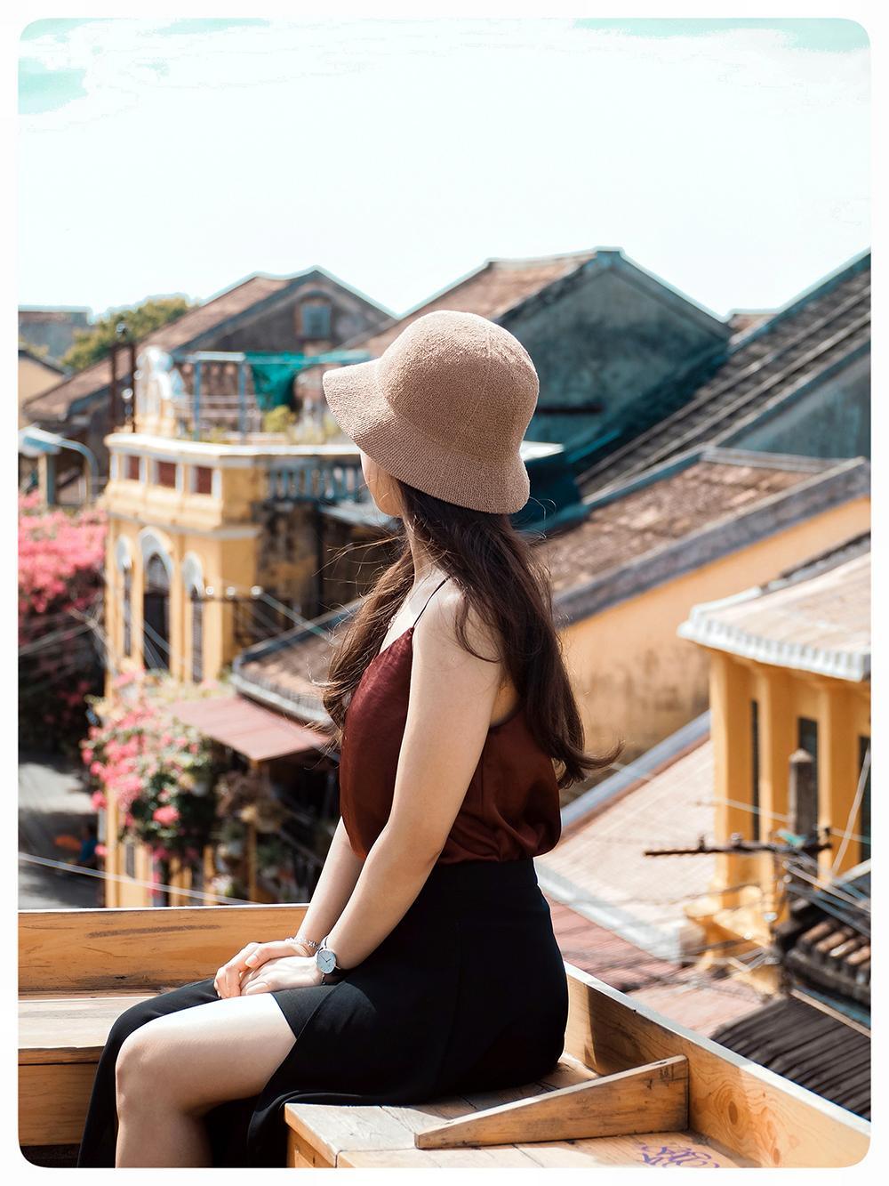 Chụp ảnh chân dung ngoại cảnh Hội An - Cafe Faifo Hội An