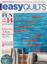 Published on Easy Quilts Spring 2018 Cover!