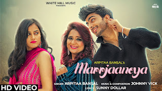 Marrjaaneya lyrics - Arpitaa Bansal