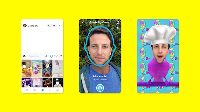 You Might Get 'Cameo Mode' on Snapchat Soon