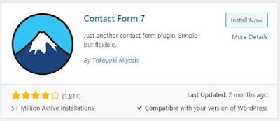 Free Contact Form 7 Plugin