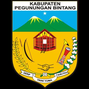 Logo Kabupaten Pegunungan Bintang PNG
