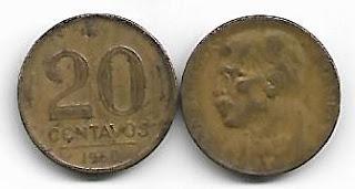 20 centavos, 1950