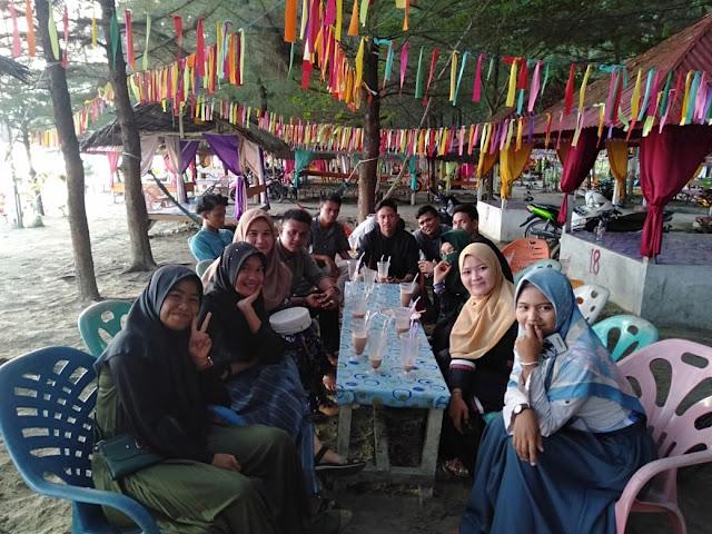 Pererat Silaturahmi, IMAS Aceh Utara dan Lhokseumawe Gelar Diskusi di Pantai Cemara