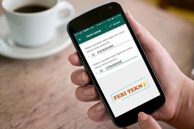 Mengganti nomor hp di whatsapp tanpa menghapus kontak  Nih Cara Ganti Nomor HP di WhatsApp Tanpa Menghapus Kontak