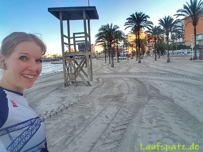 Laufen im Urlaub Erholung Reise Fit bleiben auf Reisen Mallorca