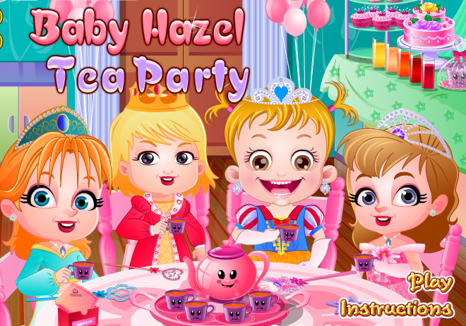 Baby Hazel Tea Party - Free Mobile Game Online - yiv.com