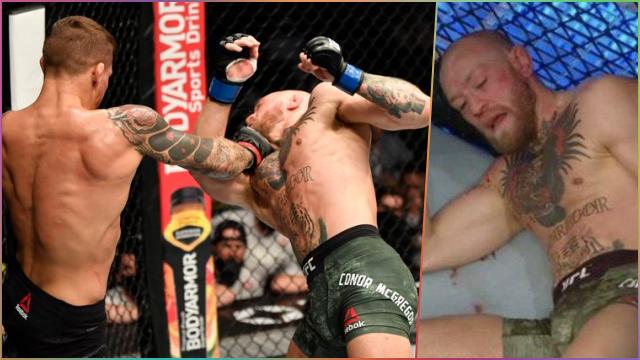 #UFC257 Dustin Poirier Petarung Pertama yang Kalahkan Conor McGregor Secara TKO
