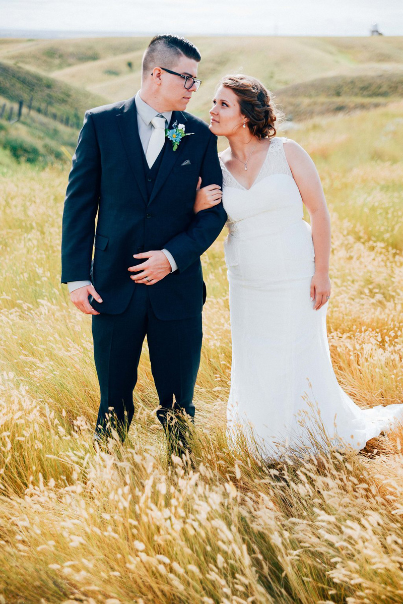 One Oak Photography / Glasgow Montana Wedding