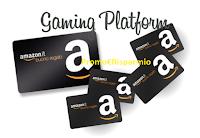 Logo Gaming Platform: ogni giorno 3 azioni da compiere, ottieni crediti e richiedi buoni Amazon!