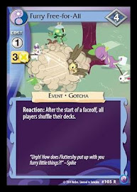 My Little Pony Furry Free-for-All Canterlot Nights CCG Card