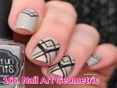 Nail Art Geometric