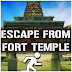 MirchiGames - Escape from Fort Temple