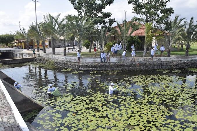 Dia Mundial de Limpeza de Praias, Rios e Lagoas: Prefeitura de Cariré faz ação no Parque Ecológico Eriberto de Sá Ponte