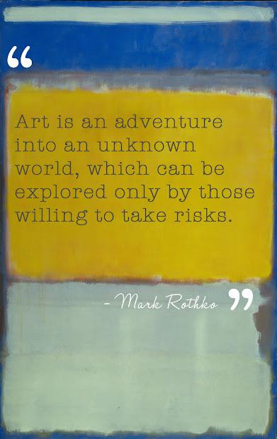 Mark Rothko Quote Art