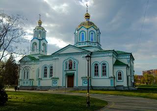 Миргород. Успенская церковь
