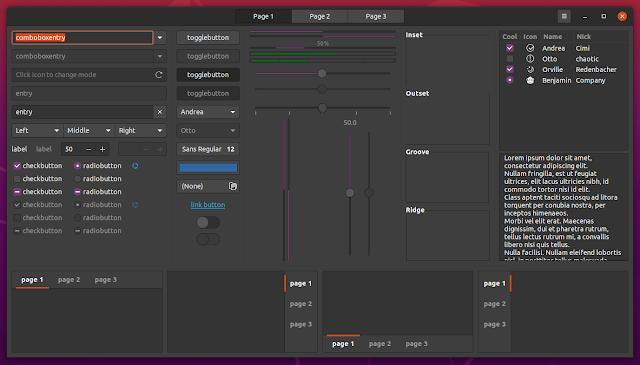 Ubuntu 20.04 Yaru teması