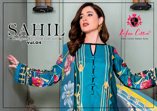 Nafisa Cotton Sahil vol 4 Pakistani dress wholesale price