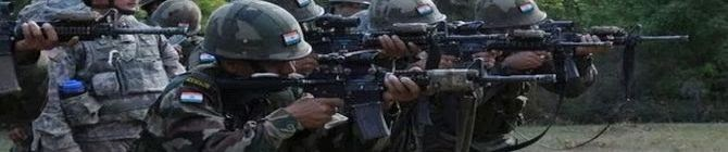 Two Terrorists Killed, Jawan Injured In Encounter In Bandipora In North Kashmir