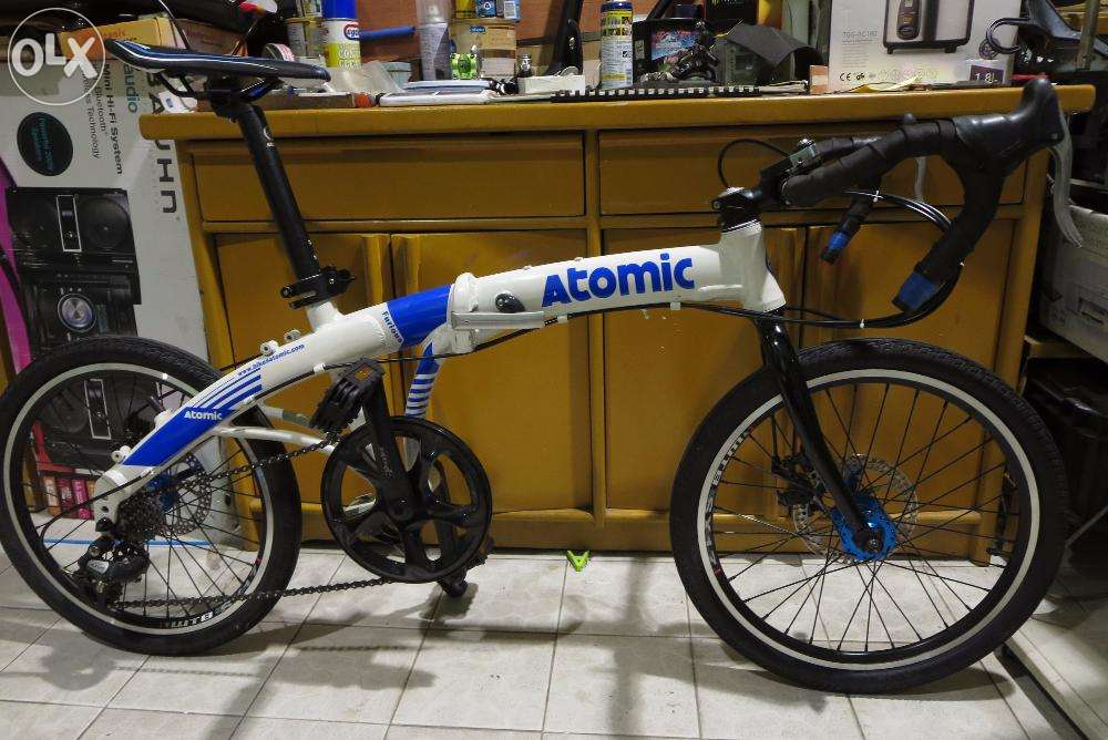 Riding A Folding Bike Around Manila Comments On Trinx And Atomic