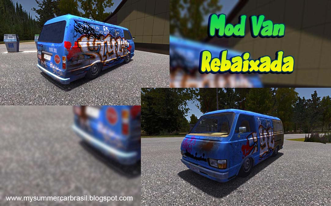 Mod] Rebaixar a Van | My Summer Car Brasil