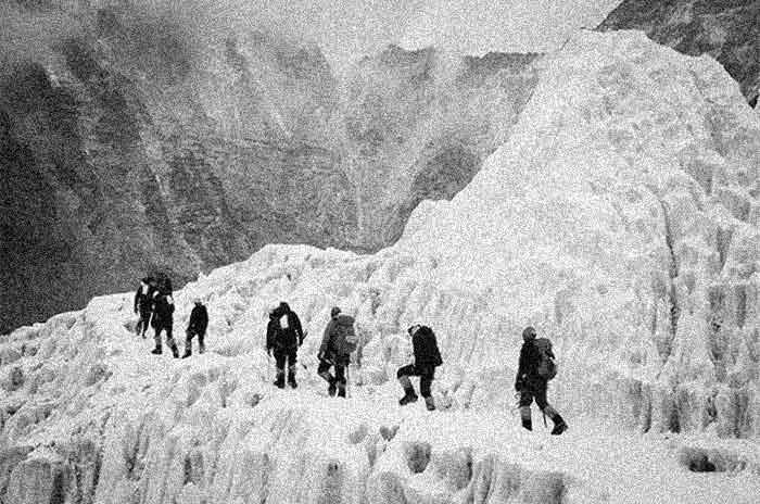 Ilustrasi Pendaki Unisoviet Everest