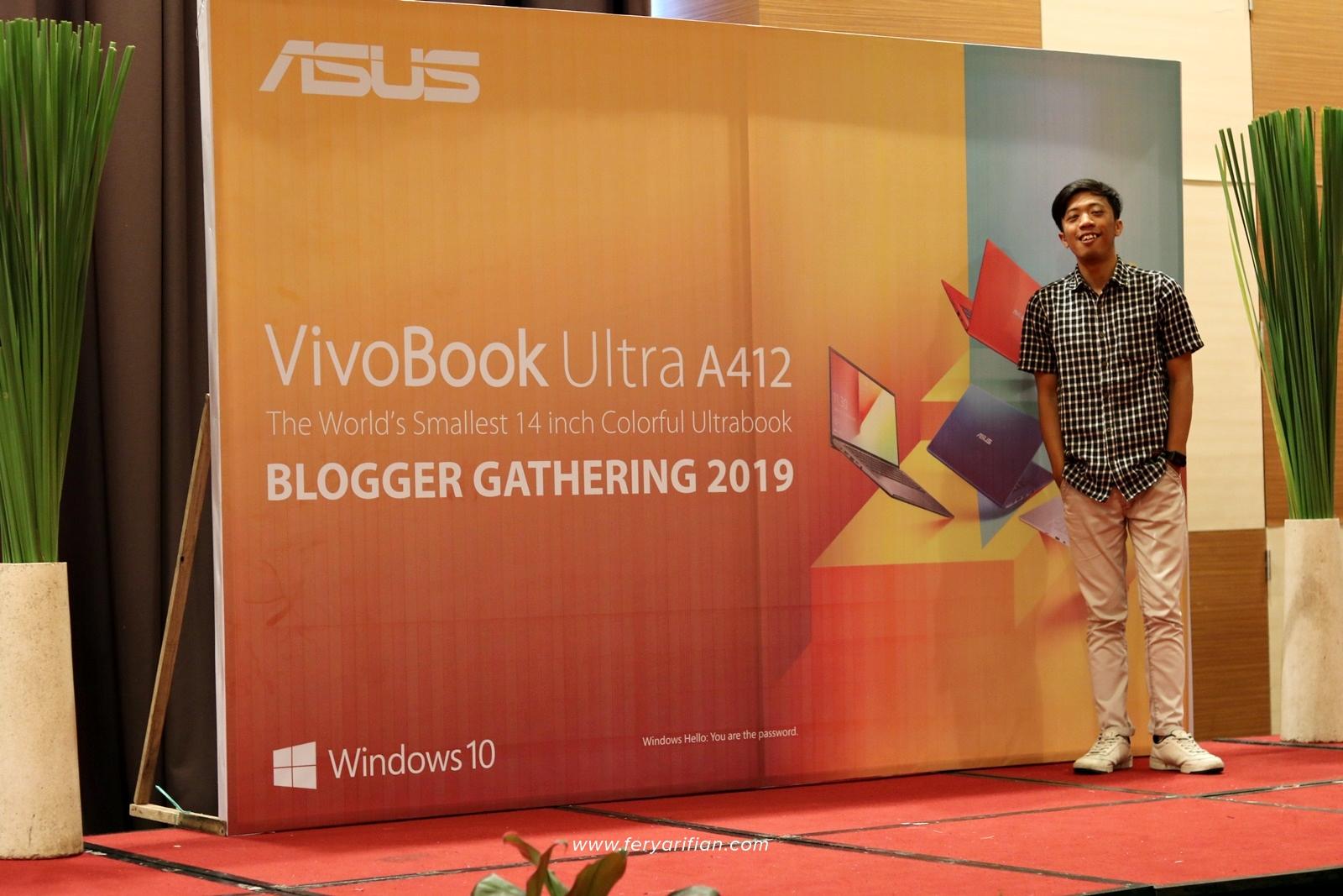 ASUS VivoBook Ultra A412 - Blogger Gathering Malang