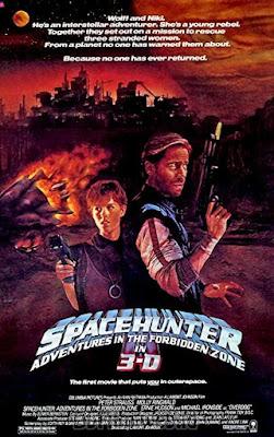 Sinopsis film Spacehunter: Adventures in the Forbidden Zone (1983)