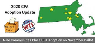 The communities voting in November