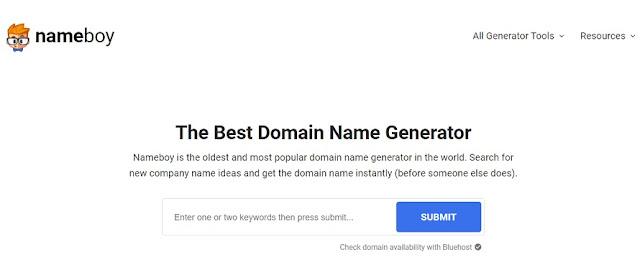 Nameboy Random Rastgele Domain Oluşturucu