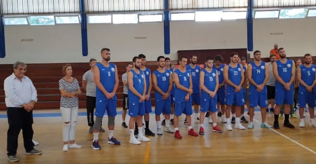 Αγιασμός για την αγωνιστική σεζόν 2019-20 του Οίακα Ναυπλίου (βίντεο)