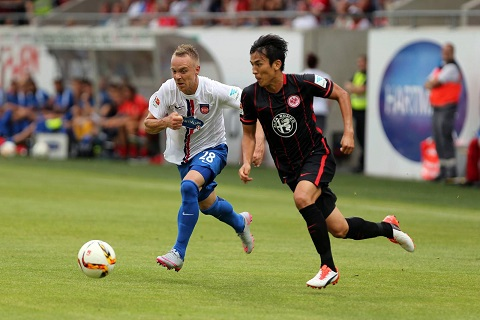CLB Eintracht Frankfurt luôn nỗ lực thi đấu