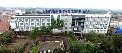 Universitas Terbuka – Daftar Fakultas serta Program Studi