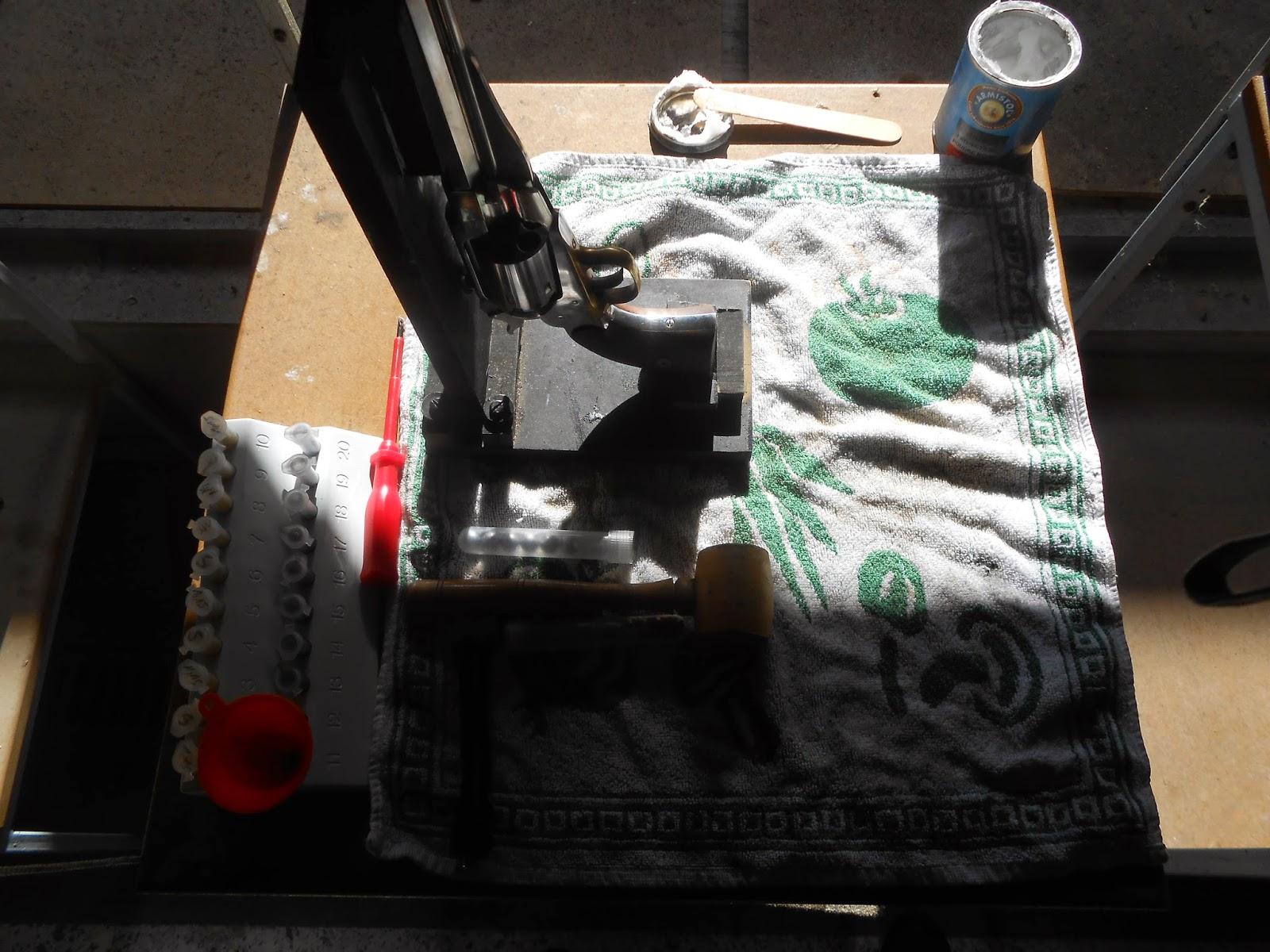 chergement remington a poudre noire