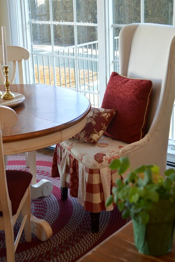 Patchwork Skirted Chair DIY