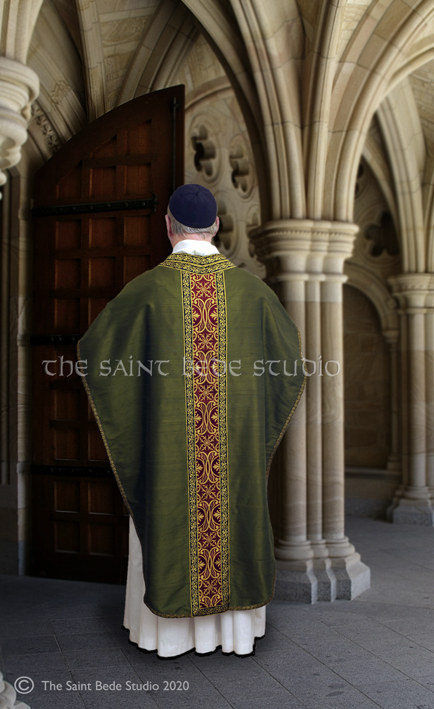 Saint Philip Neri chasuble