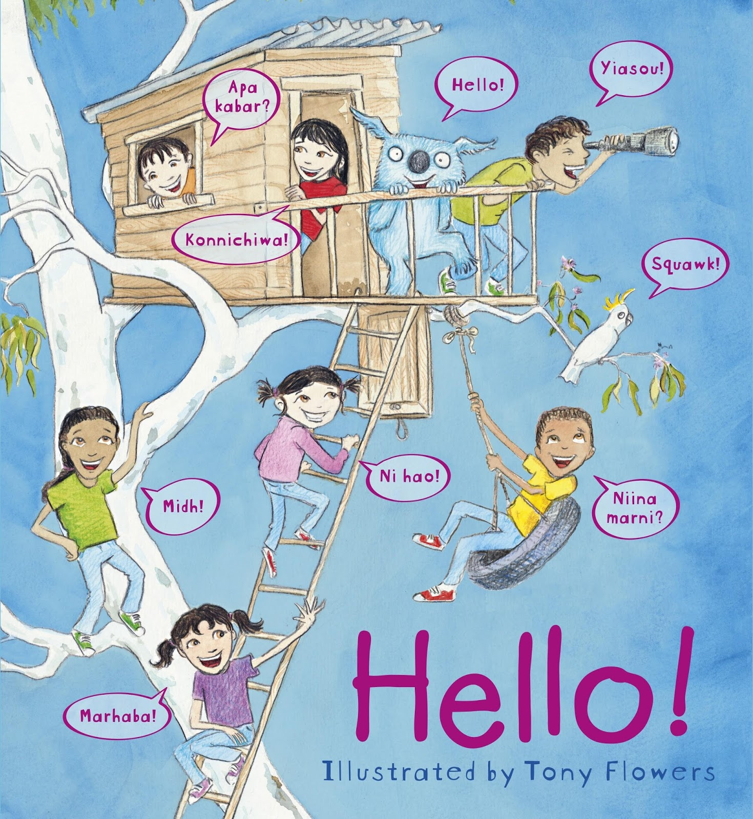 The Book Chook Childrens Book Review Hello