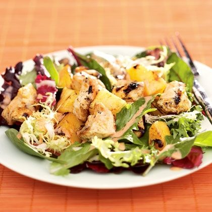 Thai Chicken, Mango & Pineapple Salad Recipe