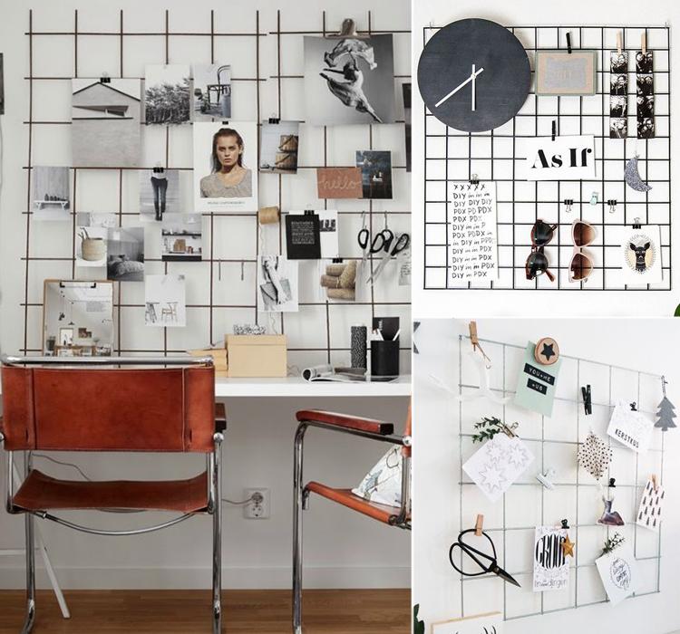 Famoso Decora con la griglia metallica | Blog Arredamento - Interior Design BX92
