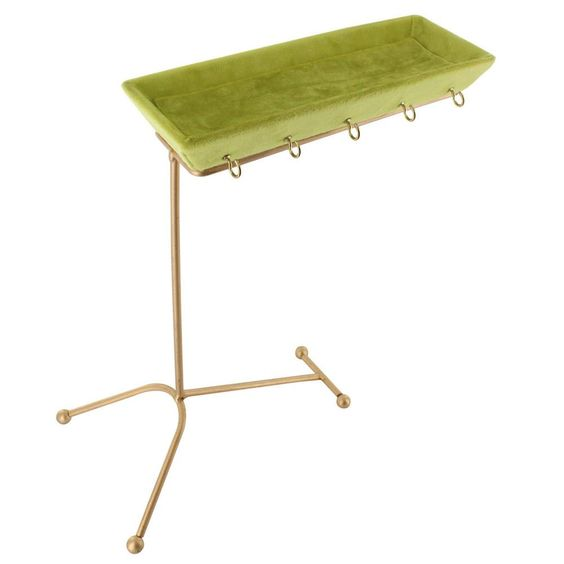 #COP3678 Metal Jewelry Display Organizer Stand with Tray
