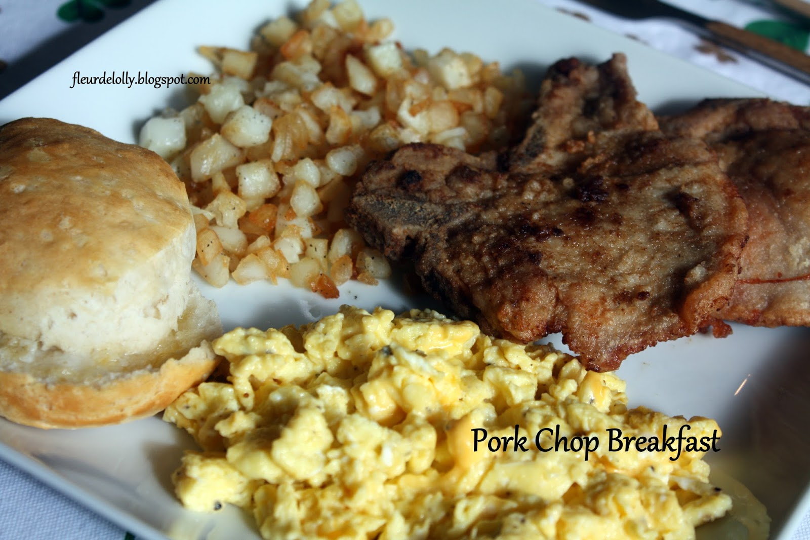 how to cook breakfast pork chops