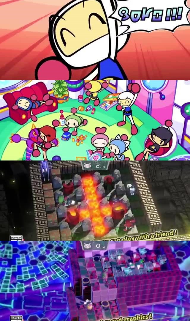 65 UPCOMING NINTENDO SWITCH GAMES OF 2017, Super Bomberman R