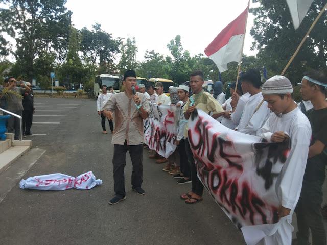 ABKR Lahat Kutuk Tragedi Demo 21-22 Mei Jakarta