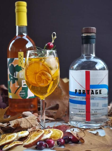 spritz,recette-de-cocktail,les-iles,gin-portage,oshlag,gin-quebecois,madame-gin