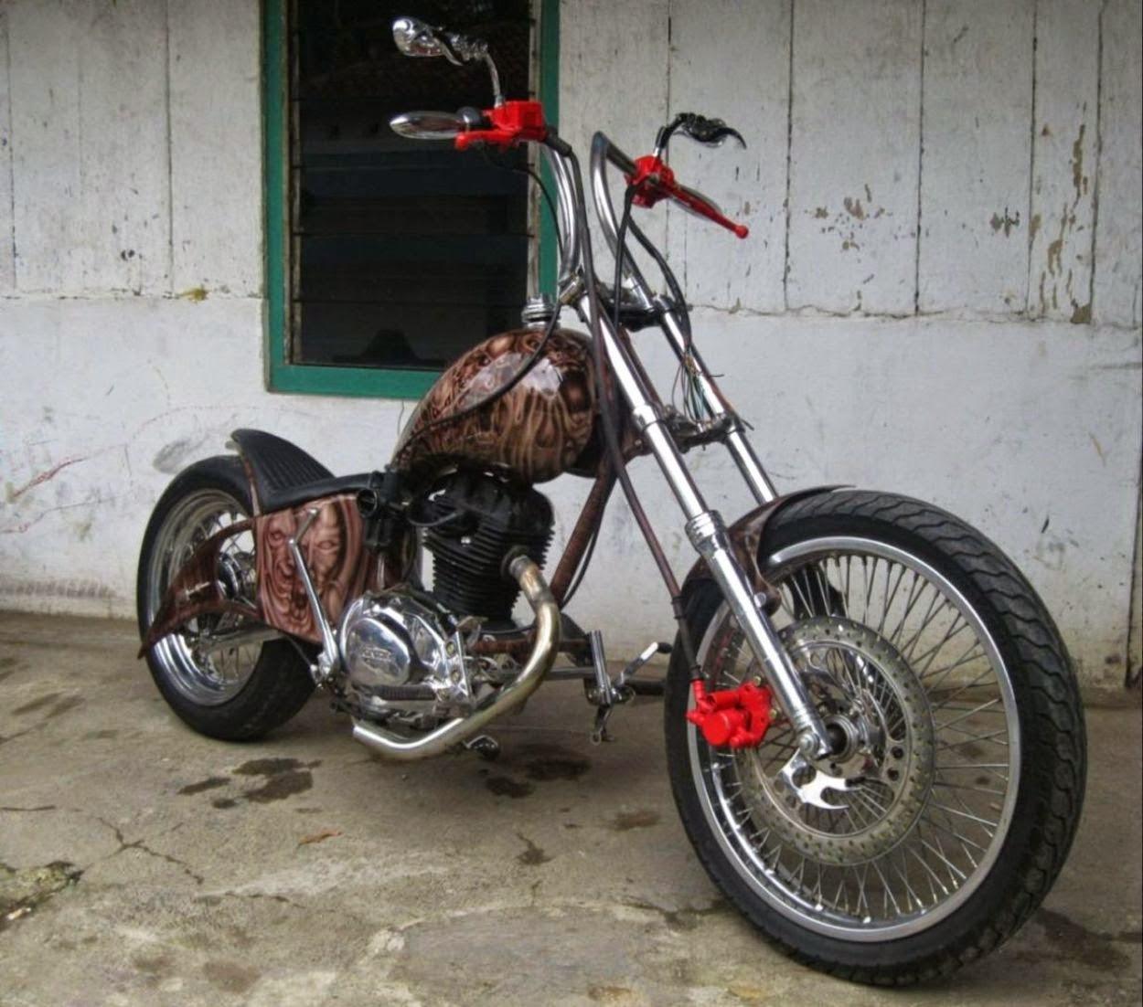 Tips Modifikasi Honda CB 100 Riza Yulian Modifikasi Motor