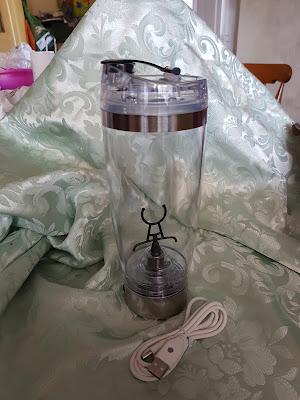 Passaparolablog digoo bottiglia shaker elettrica ricaricabile for Amazon oggettistica